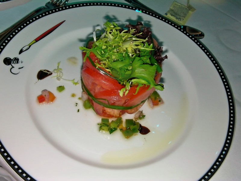 Disney Dream Animator's Palate Vine Ripe Tomato Salad
