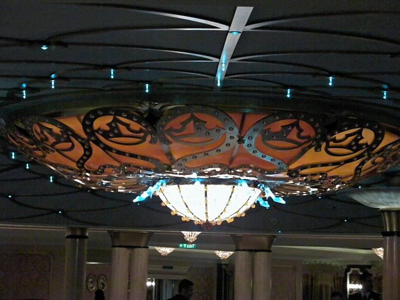 Disney Dream - Cinderella Slipper Chandalier in Royal Palace
