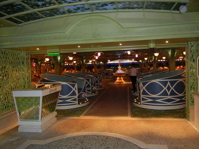 Disney Dream Enchanted Garden