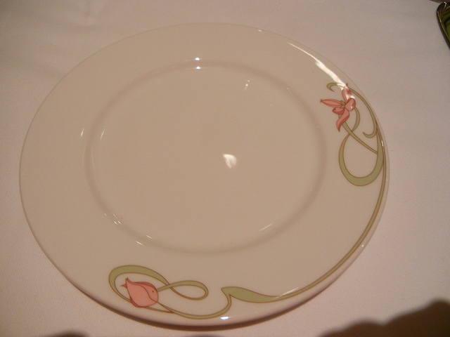 Disney Dream Enchanted Garden Plate