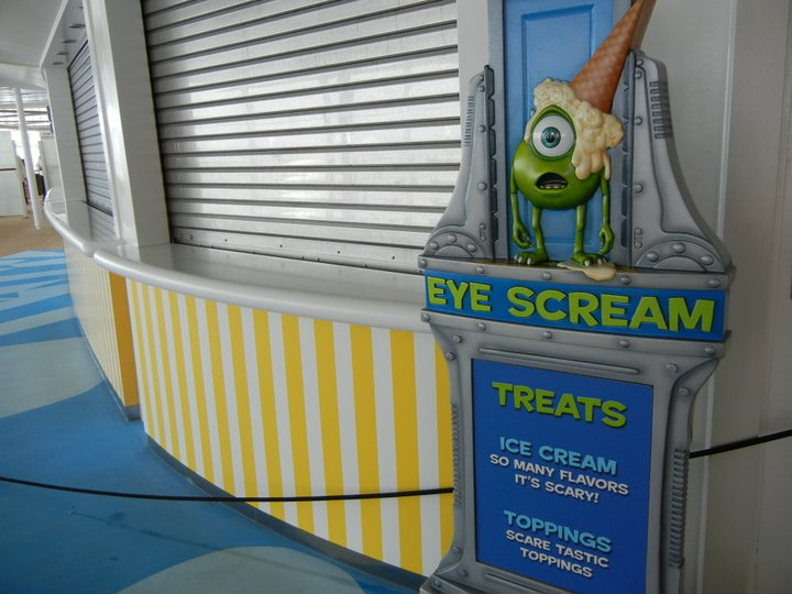 Disney Dream Eye Scream