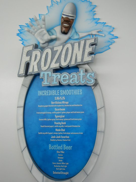 Disney Dream Frozone Treats