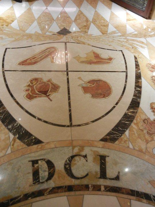 Disney Dream Royal Palace Marble Floor