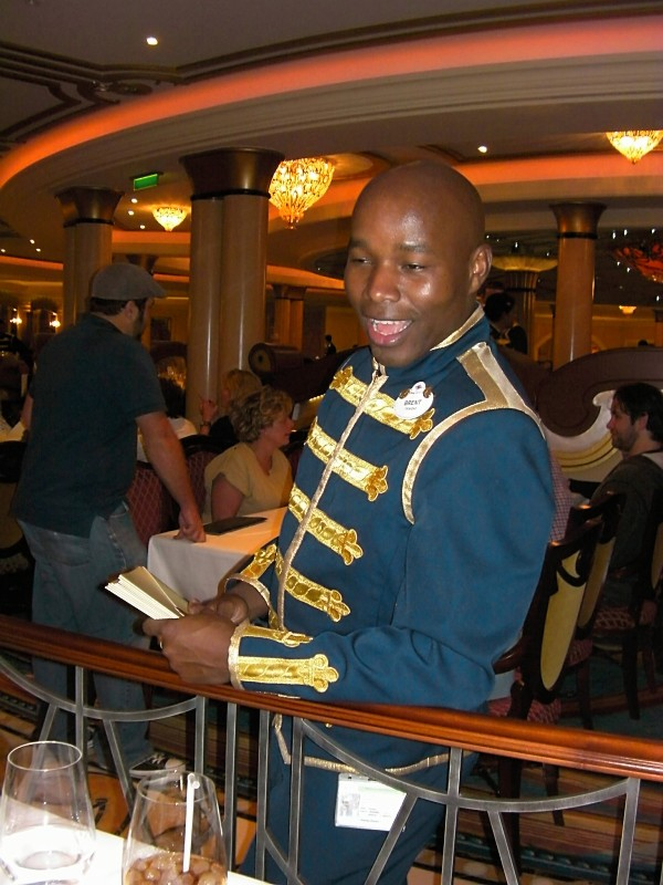 Disney Dream Royal Palace Server Costume