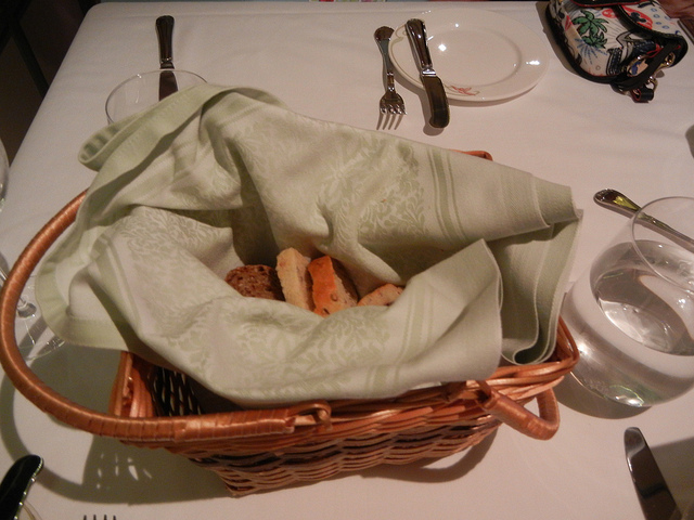 Enchanted Garden Jan 2011 Bread Basket
