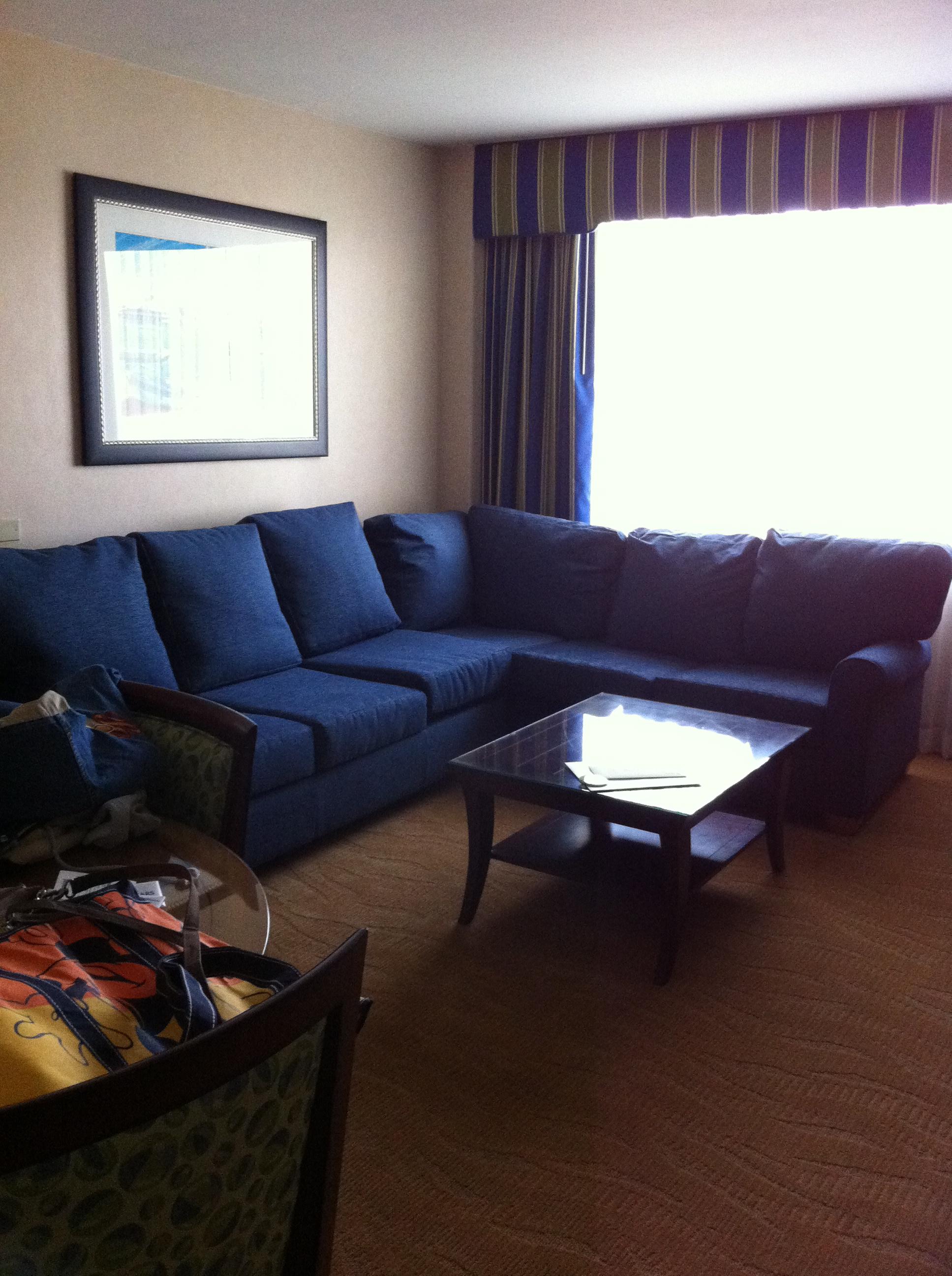 Sofa in Sitting Room