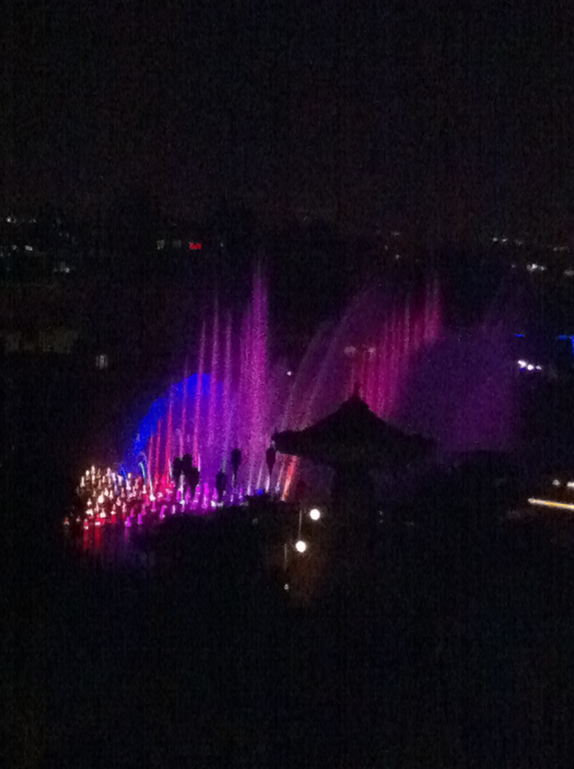 World of Color from our room