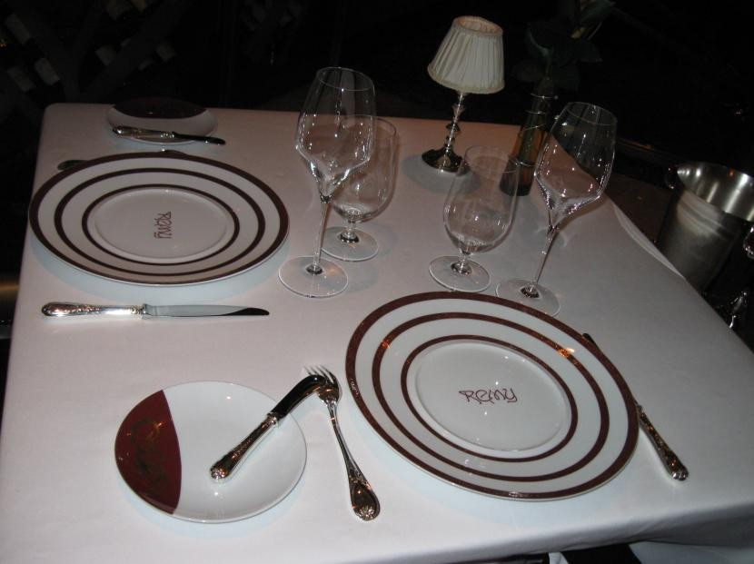 Remy table setting