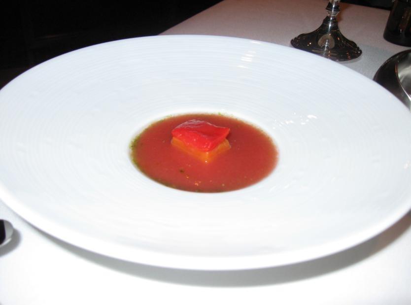 Tomatoes (gazpacho)