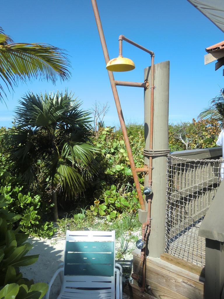 Castaway Cay Cabana shower