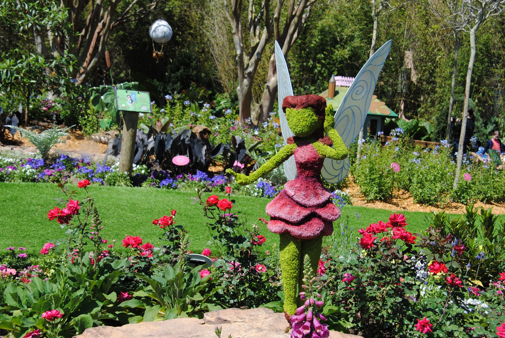 Here's Rosetta the Garden Fairy