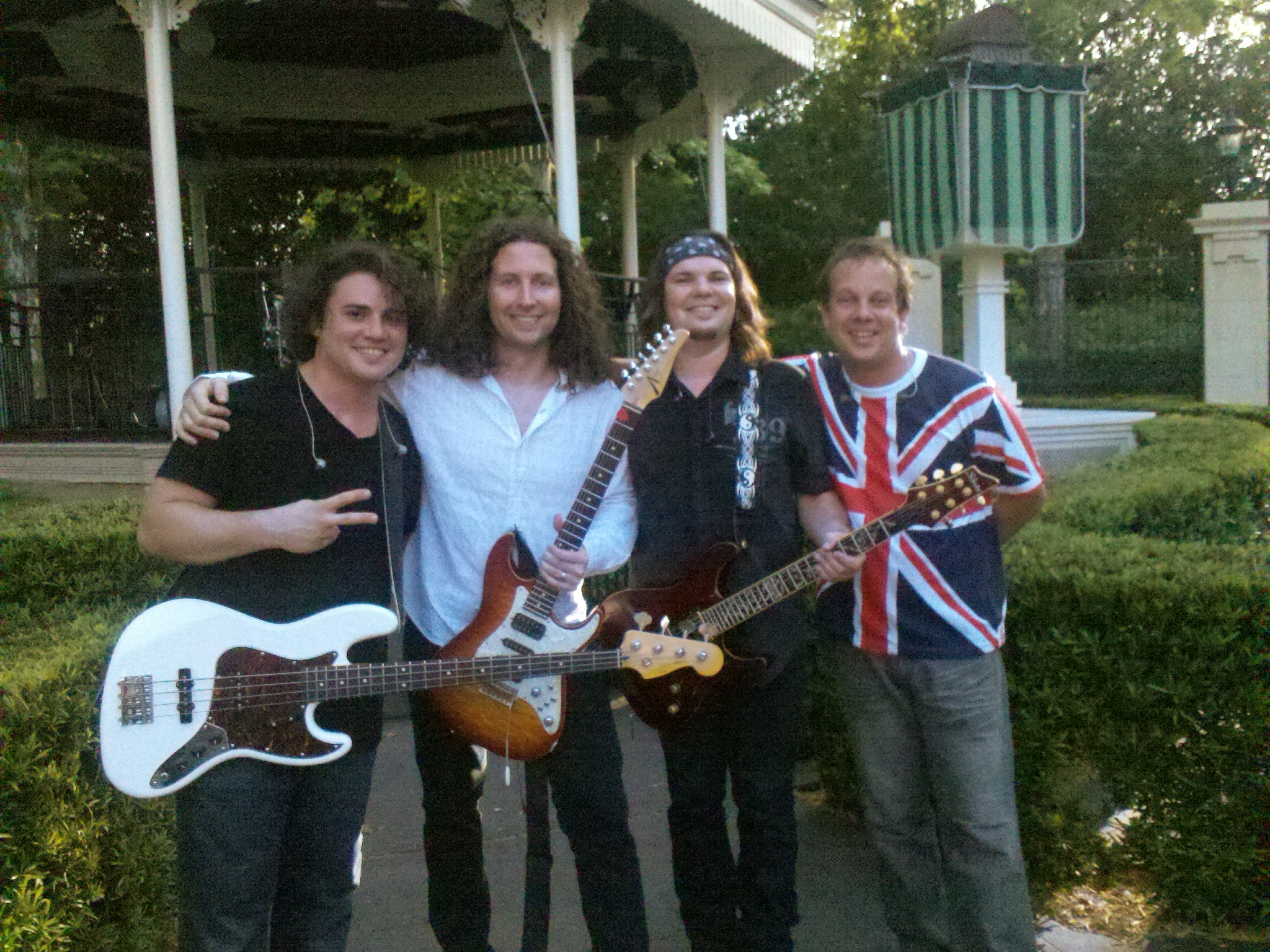 New UK Band in Epcot - English Channel