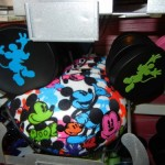 Mickey Ears with A Splash of Color