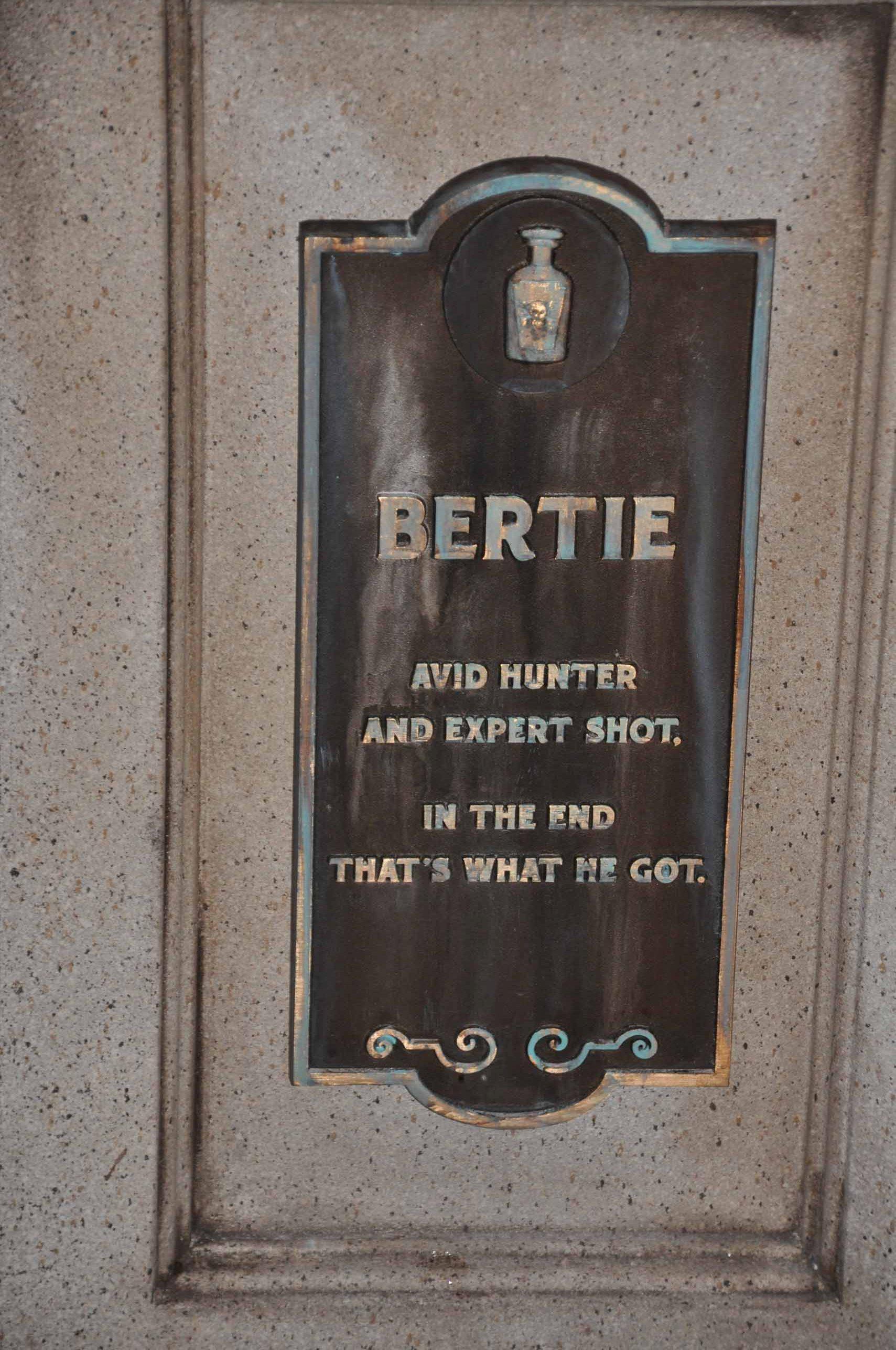 Haunted Mansion Queue - Bertie 2