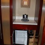 Refrigerator and Coffee Maker