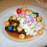 Dad's Brownie Sundae