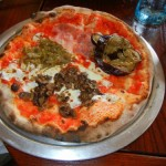 Via Napoli Quattro Stagioni Pizza - Eggplant, Artichokes, Mushroom, Ham