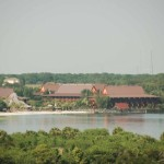 View of the Polynesian Resort