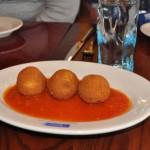 Via Napoli Aranci - Risotto Balls with Cheese