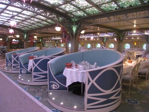 Disney Food Friday The Enchanted Garden Restaurant On The Disney Dream