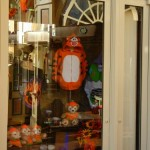 Main Street Halloween Windows