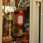 Main Street Halloween Windows