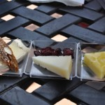 Artisan Cheese Selection with Sweet Grass Dairy Thomasville Tomé, Delice de Bourgogne, Wyngaard Chevre Affineurs Goat Gouda - Cheese Stand