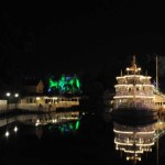 Liberty Square Riverboat and Haunted Mansion