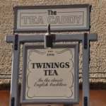 Epcot Tea Caddy