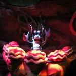 Part of the band from The Little Mermaid ~ Ariel's Undersea Adventure Attraction