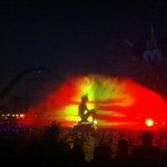 Ariel singing during the World of Color
