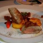 Enchanted Garden Pork Entree