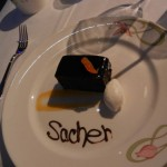Enchanted Garden Sacher Dessert