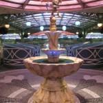 Enchanted Garden Mickey Fountain