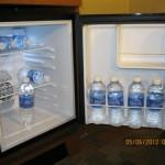 Interior of the Disney Value Resort Refrigerator