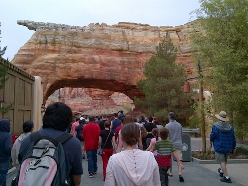 First Look at Cars Land