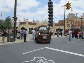 Cars Land Mater at Radiator Springs