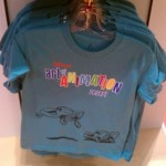 Art of Animation Cars-themed T-shirt.  Look at the detail in Lightning...
