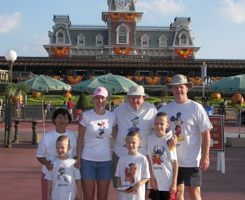 Ready for a fun day with family at the Magic Kingdom!