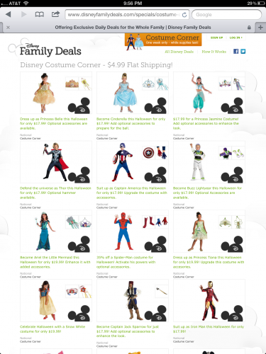 Disney Family Deals 1