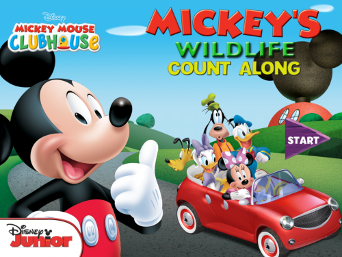 Mickey's Wildlife Count Along 1