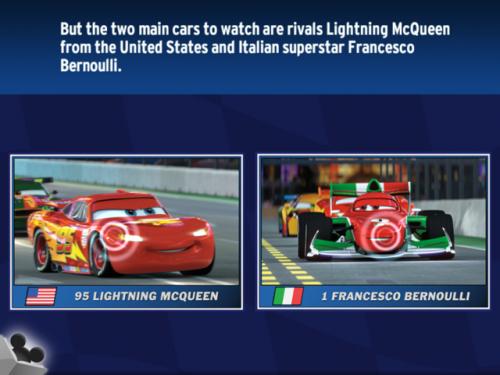 Disney Pixar Cars World Grand Prix