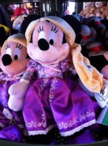 Minnie as Rapunzel