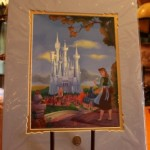 This Cinderella artwork would love wonderful in my daughter's room.