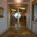Enterance to Royal Court onboard the Disney Fantasy