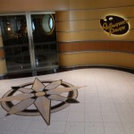 Enterance to Animator's Palate onboard the Disney Fantasy