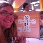 Guests create their own drawins with become part of the show at Animator's Palate onboard the Disney Fantasy.