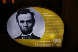 Lincoln - Boyhood Hero