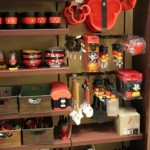 Each time I go to a Disney park, I bring home just a few more Mickey Mouse kitchen gadgets.  I have this picture, so I can plan what I want next.