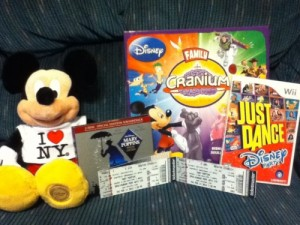 Some of the fun Disney gifts I received this Christmas!